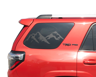 Mountain Windshield  Decal Fits 2010-2019 Toyota 4Runner TRD PRO Limited Stickers
