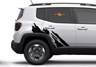 NEW 2015 2016 2017 2018 Jeep Renegade Graphics  Decals