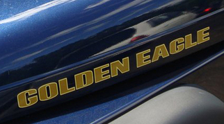 Jeep Wrangler Golden Eagle Hood Decal #1
