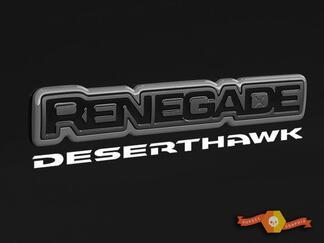 Jeep Renegade Deserthawk Desert Hawk Decal Vinyl SUV-sticker