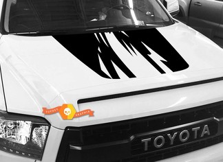 Hood graphics decal for TOYOTA TUNDRA 2014 2015 2016 2017 2018 #2