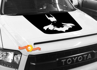 Batman Hood graphics decal for TOYOTA TUNDRA 2014 2015 2016 2017 2018