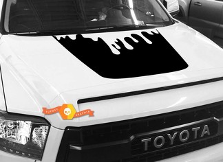 Hood graphics decal for TOYOTA TUNDRA 2014 2015 2016 2017 2018 #3