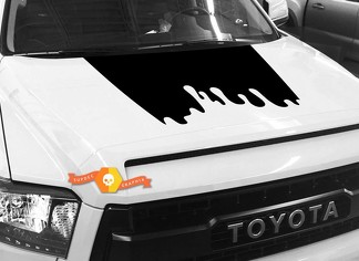 Hood graphics decal for TOYOTA TUNDRA 2014 2015 2016 2017 2018 #4