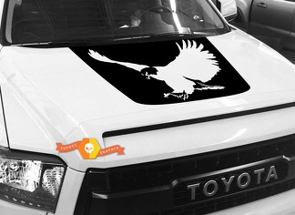 Bald Eagle Hood graphics decal for TOYOTA TUNDRA 2014 2015 2016 2017 2018 #1