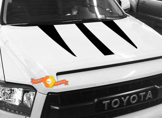 Hood graphics decal for TOYOTA TUNDRA 2014 2015 2016 2017 2018 #5