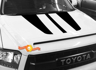 Hood graphics decal for TOYOTA TUNDRA 2014 2015 2016 2017 2018 #6
