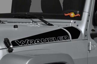 2 Jeep Wrangler Rubicon Neu CJ TJ YK JK XJ Vinyl Aufkleber Aufkleber