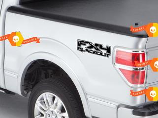 Ford F150 FX4 Blackout Raptor Style Decal Sticker F-150