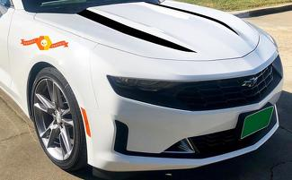Chevrolet Camaro 2019 hood decal package spider stripes, vinyl graphic