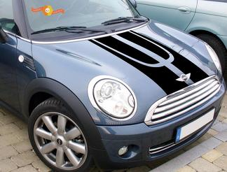 Mini Cooper S Countryman All4 R60 Viper Stripe 2 Decal and graphics sticke