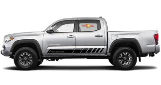 Toyota TACOMA TRD 2017 graphics Side stripe decal