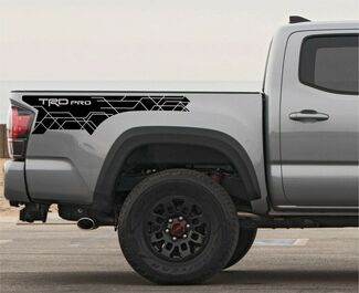2018 2017 2016 Toyota Tacoma TRD PRO XL Side Bed Decal Graphics Vinyl Sport