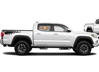 Toyota Tacoma TRD  Pro side bed graphics decal sticker model