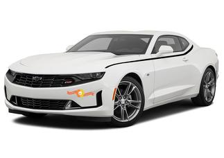 Chevrolet Camaro 2019 body side spear decal stripes vinyl graphic