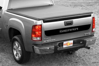 GMC Sierra Bed Tailgate Accent Vinyl Graphics stripe decal -1