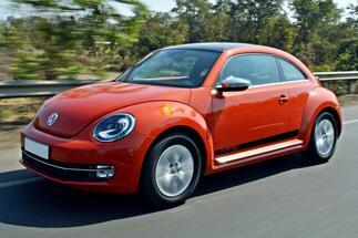 Volkswagen Beetle 2011-2018 Stripe Graphics Decals Bug porsche style 1