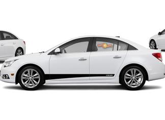 Chevrolet Holden Cruze - side stripe decal door line decal