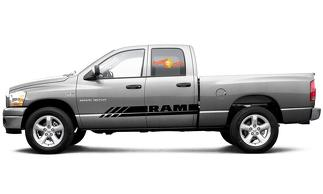 Dodge Ram Rebel mk4 2010-2018 1500 side graphics stripe decal style 10