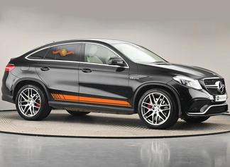 Mercedes-Benz GLE-Class C292 Edition AMG sports stripes Decal Graphics