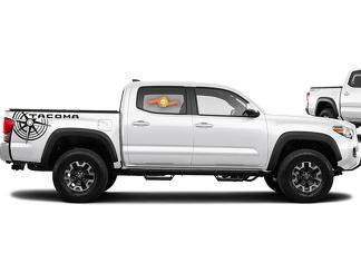Toyota Tacoma TRD side bed graphics decal sticker model 9