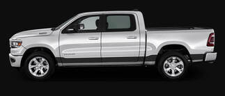 2 New Dodge RAM the all-new 2019 decals side graphics stripe