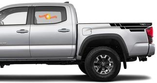 Toyota Tacoma TRD side bed graphics decal sticker model 8