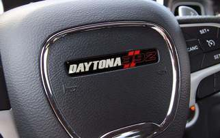 Steering Wheel Daytona 392 emblem domed decal Challenger Charger