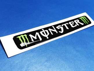 Steering Wheel Monster Energy emblem domed decal Challenger Charger dodge