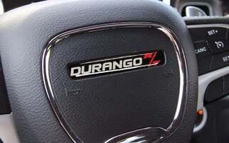 Lenkrad Durango RT R / T Emblem Kuppel Aufkleber Challenger Charger Dodge