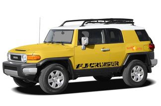 Toyota FJ Cruiser TRD sport side stripe graphics decal Wild Style