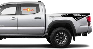 Toyota Tacoma TRD side bed graphics decal sticker model 10