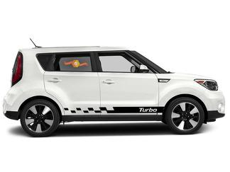 Kia Soul 2014-2018 side graphics decal sticker logo #6