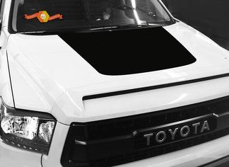 2014-2018 Toyota Tundra Hood Decal Graphic BLACKOUT