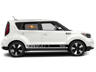Kia Soul 2014-2018 side graphics decal sticker logo #4