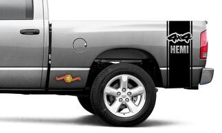 Dodge Ram Vinyl Racing Bed Side Stripe4x4 Hemi Decal Sticker #54