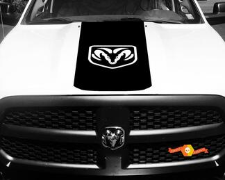 1500 2500 3500 Truck Vinyl Racing Decals Stripe Ram Dodge Hood Stickers  #72