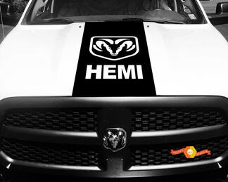 1500 2500 3500 Truck Vinyl Racing Decals Stripe Hemi Ram Dodge Hood Stickers  #74