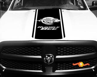 1500 2500 3500 Truck Vinyl Racing Stripe Dodge Ram Bee Hood Decals Stickers #81