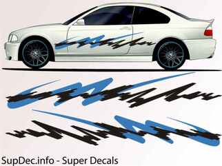Vinyl Auto Body Graphics EXTERIOR OUTSIDE Decal sticker B784