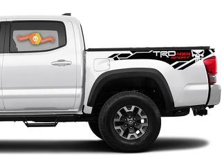2 X Toyota Tacoma Trd Pro 4x4 2016-2020 Seite Vinyl Aufkleber Aufkleber