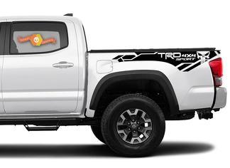 Toyota Tacoma 2016-2020 (TRD OFF ROAD) 4x4 Sport Punisher Seitenkit Vinyl Decals Grafikaufkleber