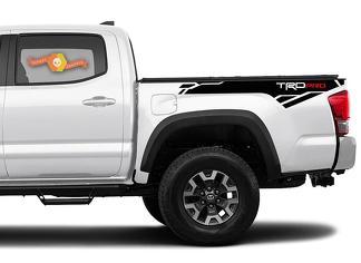 2 X Toyota Tacoma Trd PRO 2016-2020 Seite Vinyl Aufkleber Aufkleber