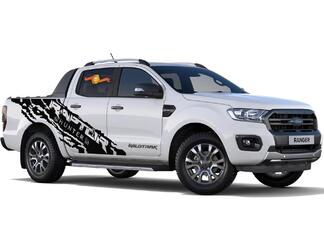 2X Ranger Raptor Hunter large side Vinyl Decals 2015-2019
