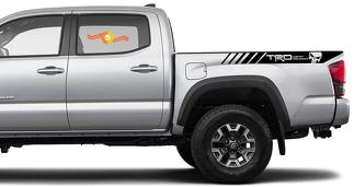 2X Tacoma Toyota TRD Off Road Truck Bedside Decals Vinyl Stickers