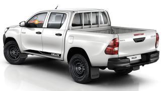 2X Toyota Hilux Seitenschweller Vinyl Decals Grafik Rallye Aufkleber -1