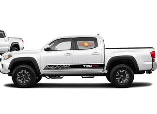 2016-2020 Toyota Tacoma TRD PRO Side Stripe Decal Graphics Vinyl Sport