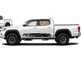 2016-2020 Toyota Tacoma TRD PRO Side Stripe Decal Graphics Vinyl Sport - 2