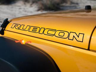 Jeep Rubicon Wrangler Hood Decal - 26