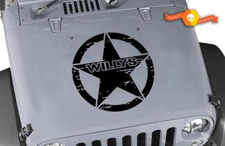 Willys Jeep Hood Decal - 20